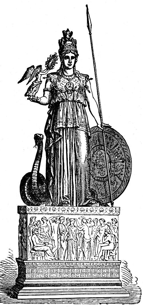 Athena Greek Mythology Drawing Athena Greek Goddess